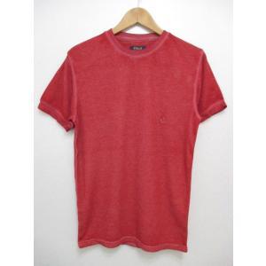 POLO RALPH LAUREN/ポロ ラルフローレン ワンポイント刺繍 サーマル 半袖 Tシャツ レッド|feeling-mellow