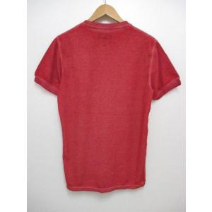 POLO RALPH LAUREN/ポロ ラルフローレン ワンポイント刺繍 サーマル 半袖 Tシャツ レッド|feeling-mellow|02