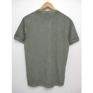 POLO RALPH LAUREN/ポロ ラルフローレン ワンポイント刺繍 サーマル 半袖 Tシャツ セージグリーン|feeling-mellow|02