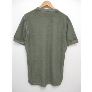 POLO RALPH LAUREN/ポロ ラルフローレン ワンポイント刺繍 サーマル 半袖 Tシャツ セージグリーン feeling-mellow 02