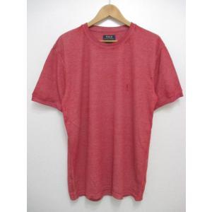 POLO RALPH LAUREN/ポロ ラルフローレン ワンポイント刺繍 サーマル 半袖 Tシャツ ブラック feeling-mellow