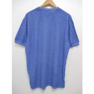 POLO RALPH LAUREN/ポロ ラルフローレン ワンポイント刺繍 サーマル 半袖 Tシャツ ブルー|feeling-mellow|02