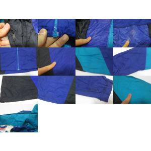 NIKE/ナイキ ロゴ刺繍 ジップアップ ウインドブレーカー パープル×ブラック×ターコイズ系 【サイズ:L】【中古】 feeling-mellow 04
