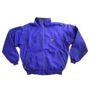 中古92年製 patagonia/パタゴニア ナイロン×フリース シェルジャケット 紫×紺 _東北 _関東 _甲信越 _|feeling-mellow