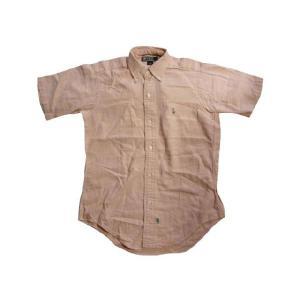 中古Polo by Ralph Lauren/ラルフローレン 半袖ボタンダウンシャツ ピンク系 オックスフォードシャツサイズ:Boy's 1450%OFFUS古着|feeling-mellow
