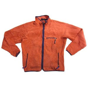 中古patagonia /パタゴニア フリースジャケット ピンク Made in U.S.A サイズ:XLOUTDOOR/アウトドア 古着 mellow|feeling-mellow