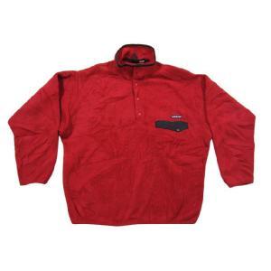 中古patagonia/パタゴニア SYNCHILLA スナップT プルオーバージャケット 赤 サイズ:LOUTDOOR 古着 mellow|feeling-mellow