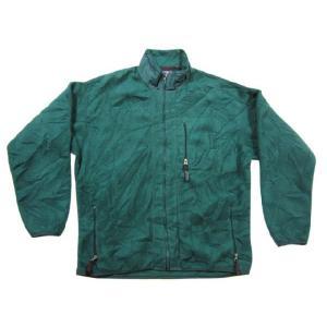 中古 patagonia/パタゴニア ジップアップ フリースジャケット 緑 Made in U.S.A サイズ:XLOUTDOORマラソンスポーツ 古着 m|feeling-mellow