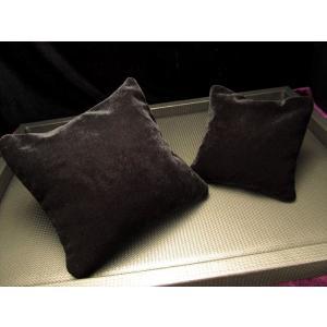天然水晶さざれ入り座布団 ベロア調 Mサイズ 約10.5×1...
