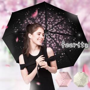 日傘 折りたたみ 日傘 遮光 UV 傘 レディース 五つ折 晴雨兼用傘 紫外線 対策 遮熱 傘大きい 軽量 丈夫 傘 遮光効果 夏新作 feerita