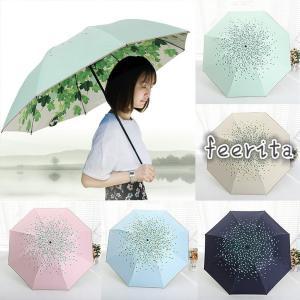 日傘 折りたたみ 日傘 遮光 UV 傘 レディース 晴雨兼用傘 紫外線 対策 遮熱 傘大きい 軽量 丈夫 傘 遮光効果 夏新作 feerita