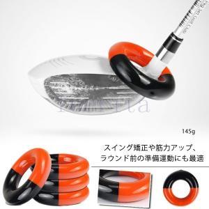 ゴルフ トレーニング ウエイトアップ 素振り専用 ウエイトリング ウッド用 アイアン用|feerita