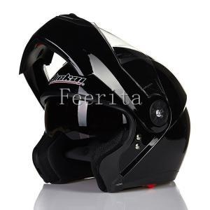 ジェットヘルメット オープンフェイス  シールド付ジェットヘルメット バイクヘルメット シーズン四季 ヘルメットレンズ 安全規格 システムヘルメット|feerita