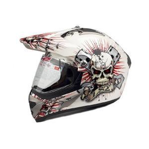 オフロードヘルメット ジェットヘルメット オープンフェイス シールド付ヘルメット バイク 安全規格 バイク用品|feerita