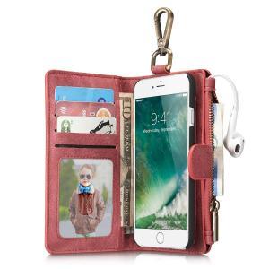 iPhone7 ケース iPhone 7 カバー 手帳型 スマホケース アイフォン7 スマホカバー 耐衝撃 シンプル 大人 アイホン7ケース レザー カード収納可 男性 メンズ|feerita