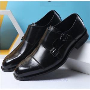 ビジネスシューズ歩きやすいメンズ革靴プレーントゥ紳士靴フォーマルシューズ快適靴通勤リクエスト無地ハイカットシューズ|feerita
