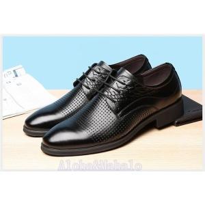 ビジネスシューズ歩きやすいメンズ革靴プレーントゥ紳士靴フォーマルシューズ快適靴通勤リクエスト無地ハイカットシューズ feerita