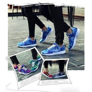 カップルスニーカーシューズカップル靴レディースメンズ靴厚底軽量男女兼用カップル美脚春夏ペア運動靴スポーツシューズ|feerita