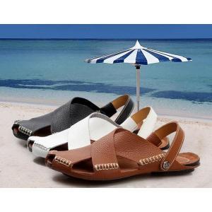 サンダルメンズビーチサンダルアウトドアスポーツサンダル靴カジュアルキャンプウォーキング軽いサマーシューズ通気性水陸両用|feerita