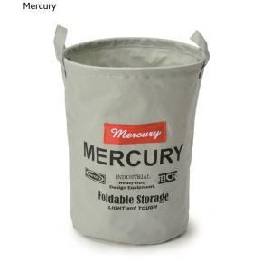 Mercury マーキュリー キャンバスバケツ M  グレイ
