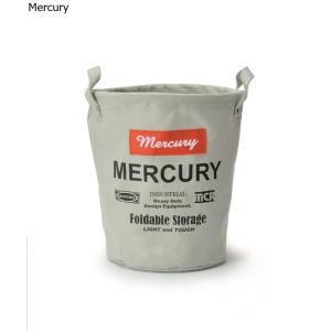 Mercury マーキュリー キャンバスバケツ S  グレイ