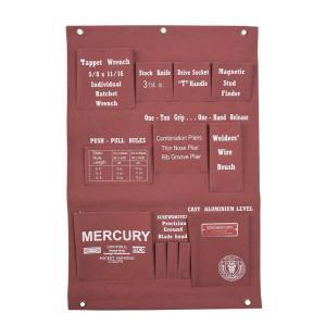 Mercury マーキュリー キャンバス ハンギングポケット コーラル