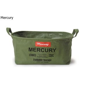 Mercury マーキュリー キャンバスオーバルバケツ S  カーキ