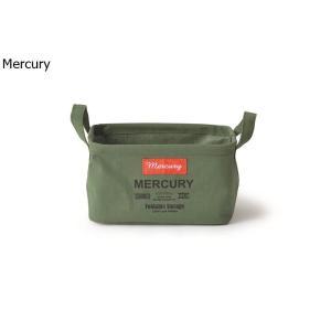 Mercury マーキュリー キャンバス レクタングルボックス S カーキ