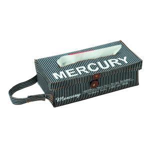 Mercury マーキュリー ヒッコリー ティッシュボックスカバー