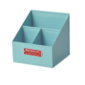 Mercury マーキュリー リモートツールボックス ブルー 小物入れ 小物整理 鉛筆立て 工具入れ