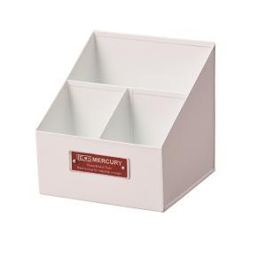 Mercury マーキュリー リモートツールボックス ホワイト 小物入れ 小物整理 鉛筆立て 工具入...