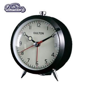 ALARM CLOCK BLACK アラームクロック 時計 目覚まし時計 ダルトン
