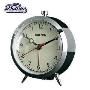 ALARM CLOCK CHROME アラームクロック 時計 目覚まし時計 ダルトン