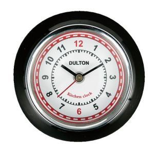 KITCHEN CLOCK キッチンクロック 時計 マグネット BLACK
