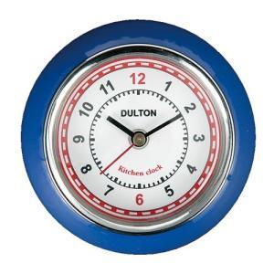 KITCHEN CLOCK キッチンクロック 時計 マグネット ROYAL BLUE