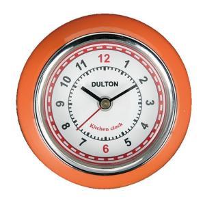 KITCHEN CLOCK キッチンクロック 時計 マグネット ORANGE