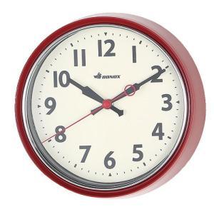 WALL CLOCK SAGE ウォールクロック 掛け時計 RED