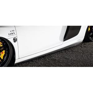 アーティシャンスピリッツ アウディ R8 V8 / V10 サイドディフューザー カーボン felice-inc-shop