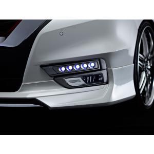 アドミレイション デポルテ C27 セレナ ハイウェイスター専用 LED スポット KIT 5連 [ ホワイト / ブルー 選択] 未塗装 純正バンパー専用|felice-inc-shop