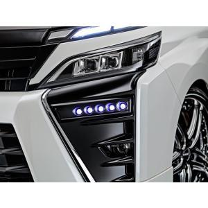 アドミレイション デポルテ 80 ヴォクシー VOXY ZS 後期 LED スポット KIT 5連 未塗装 純正バンパー専用|felice-inc-shop