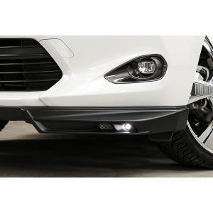 ケンスタイル EIK 60 ハリアー [ 前期 / 後期 共通] LED フロントコーナースポイラー エアロ つや消し黒塗装済み|felice-inc-shop