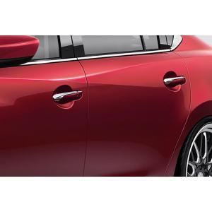 ケンスタイル アテンザ ワゴン 中期 (H27.1〜H30.5) アウタードアハンドルカバー ABS クロームメッキ|felice-inc-shop