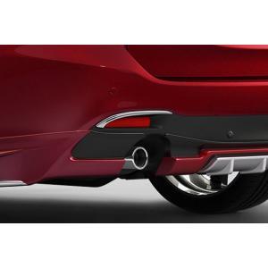 ケンスタイル アテンザ ワゴン 中期 (H27.1〜H30.5) リア リフレクターガーニッシュ ABS クロームメッキ|felice-inc-shop