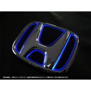Junack ジュナック LED エンブレム ホンダ LTE-H1 N-BOX / N-BOX CUSTOM 2011.12-2017.7 JF1/2 フロント用 ※現車エンブレムサイズ確認|felice-inc-shop