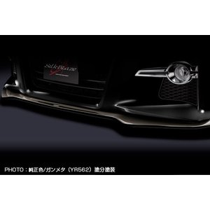シルクブレイズ 30系 アルファード 前期用 S/SA/SR フロントリップスポイラー Type-S ブラック202 塗り分け/ガンメタYR562 ※個人宅NG|felice-inc-shop