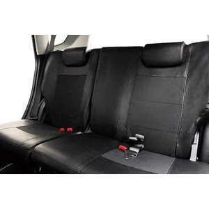 トヨタ アクアLグレード専用シートカバー レザー&パンチング 送料無料 ブラック 防水|felice-vita|03