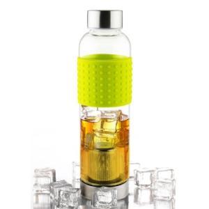 Asobu Tea GLASS BOTTLE ライム 400ml ANDIT-LM|felicevoice-store