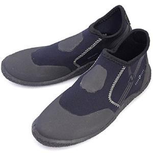 アクアラング マリンシューズ 3mm ショート(ポリネシアン)ブーツ (24cm)|felicevoice-store
