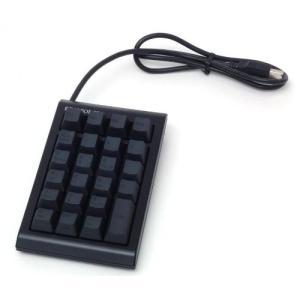 製品型番:WC01B0 製品仕様:23キー テンキーPad ブラック インターフェイス:USB ケー...