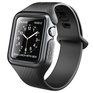 Clayco Apple Watch Series 3保護ケース バンド 衝撃吸収 アップルウォッチ シリーズ 3 対応 カバー(42mm, 黒) felicevoice-store
